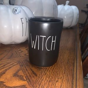 Rae Dunn witch candle